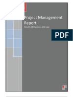 Project Management Report Final Updated