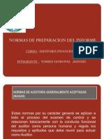 Preparacion Del Informe