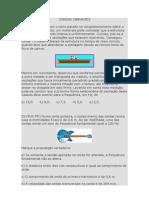 CORDAS VIBRANTES - 23 QUESTÕES