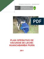Plan Operativo de Vacunos de Leche