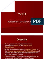 WTO agricuture