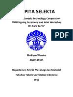 Kapita Selekta - Seminar Rare Earth Metal