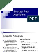 Lecture-36 Shortest Path Algorithms