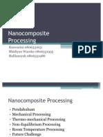 Presentation - Nanocomposite Processing