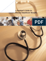 An Employer's Guide to Patient-Directed Healthcare Benefits