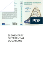 Elementary Differential Equations 6th Edition