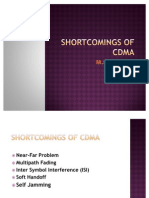 Shortcomings of Cdma