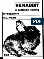 A Handbook on Rabbit Raising for Beginners 1984