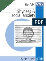 Shyness Self Help