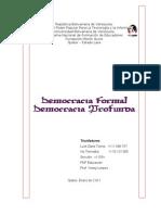 Democracia Formal Profunda