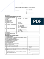 Bank Survey Questionnaire