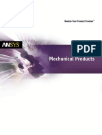 Ansys Mechanical Suite Brochure 14.0