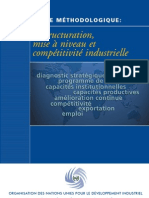 Guide Methodologique Restructuration Mise a Niveau Et Competitivite Industrielle