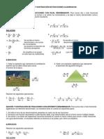 Adici+n y Sustracci+n de Fracciones Algebraic As (1)