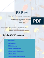 PSP Methodology , Main Concepts, and Certification Exam guidelines