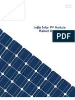India Solar PV Module Market Report Preview 2011