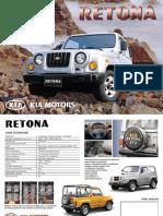 Kia Retona katalog