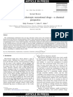 Sally Freeman and John F. Alder- Arylethylamine psychotropic recreational drugs—a chemical perspective
