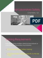 2_Laboratory Safety I