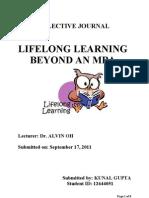 Lifelong Learning Beyond an MBA