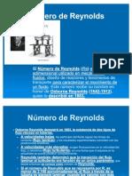 Presentacion Número de Reynolds