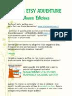 Guida Gratis ETSY ADVENTURE Capitoli 1-8 it