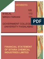 Financial Statement Sitara (Cg Presentation)