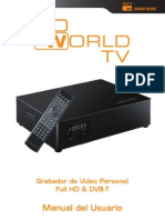 So World TV User Manual SP