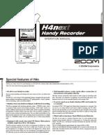 H4n Manual