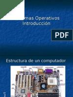 Sistemas Operativos. Introducción