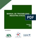 Gua de Trazabilidad Industria Avicola EAN