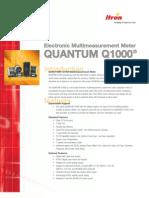 QUANTUM Q1000 Electronic Multi Measurement Meter
