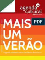 Agenda Cultural Janeiro 2012