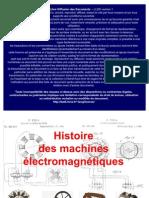 Histoire Machines Elec