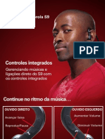 [Guia do Usuário] Fone Estéreo Bluetooth Motorokr S9 - Motorola
