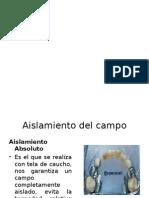 Operatoria Dental II - Unidad 5