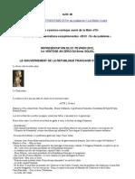 2012 Fin du judaïsme 2. Le gouvernement de la République française et européenne