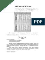 Modelul Static Al Lui Keynes