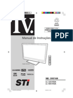 Manual TV Led 32 Semp Toshiba