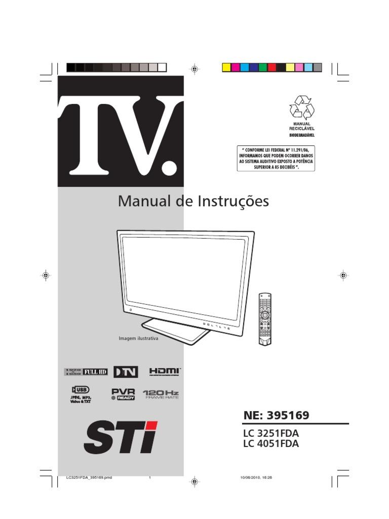 manual da tv led sti free owners manual u2022 rh wordworksbysea com manual tv semp toshiba 42 hdmi manual tv semp toshiba 40 hdmi