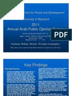 1121 Arab Public Opinion