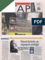 Ahmet Bozkurt, Özdemir Nutku İle Shakespeare Sözlüğü, Cumhuriyet KİTAP, 26 Şubat 2009, sayı 993