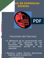 Formas de comunicación escrita