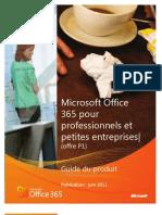 Microsoft Office 365 (Plan P1) Product Revu