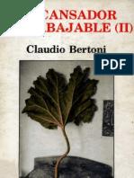 Bertoni, Claudio - El Cansador Intrabajable 2