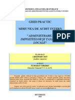 Ghid Administrarea Impozitelor Taxelor Locale