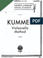 Metodo Kummer Para Violoncello