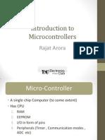 Techkriti 2012-Introduction to MCU