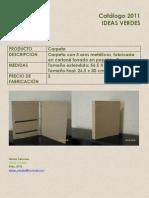 Catalogo Ideas Verdes 2011