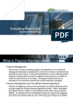 Active Passive Mgt